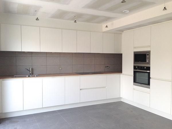 Projecten nieuwbouw co rdinatie bouwadvies assuban invest - Faience giet keuken moderne ...